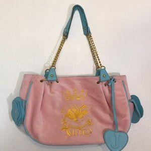 Juicy Couture. Pink/Blue. Purse